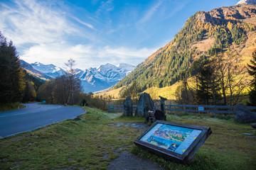 旅、晩秋のヨーロッパ、Austria Grossglockner 山岳道路