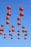 Red Chinese lantern - Chinese New Year - 186407844