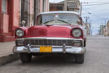 Cuban Taxi in Cienfuegos, Cuba