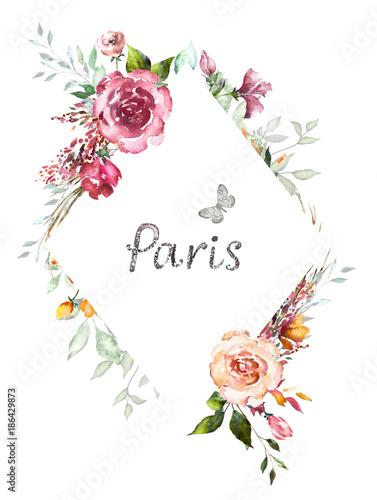 wzor-karty-akwarela-zaproszenie-projekt-z-roz-paczek-i-lisci-kwiat-tlo-z-kwiatowymi-elementami-dla-tekstu-tlo-akwarela-szablon-rama