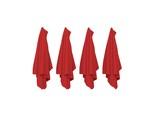 Rote Handtücher hängend - 186434259