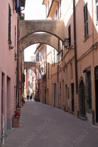 Poster Smal steegje Italian narrow street