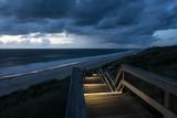 Holzsteg am Strand von Sylt - 186437841