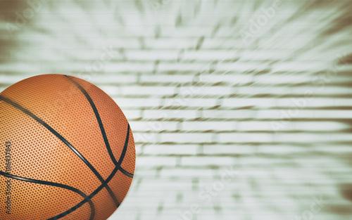 Staande foto Bol basket ball