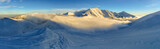Tatry Zachodnie panorama - zima