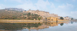 Fort Amber bei Jaipur in Rajasthan, Indien - 186461692