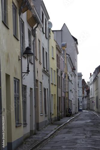 Aluminium Smalle straatjes Strassenansicht