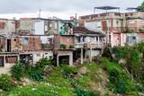 Dilapidated houses in Sancti Spiritus, Cuba