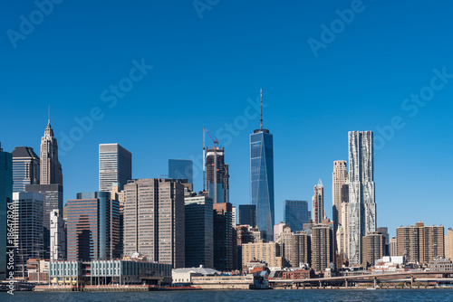 Poster Chicago ニューヨーク・マンハッタンの風景 日中