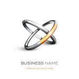 logo entreprise 3D - 186494647