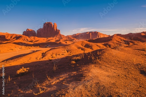 In de dag Oranje eclat Arizona Scenic Route