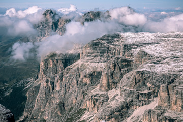 mountains Sella Ronda Dolomites Italy