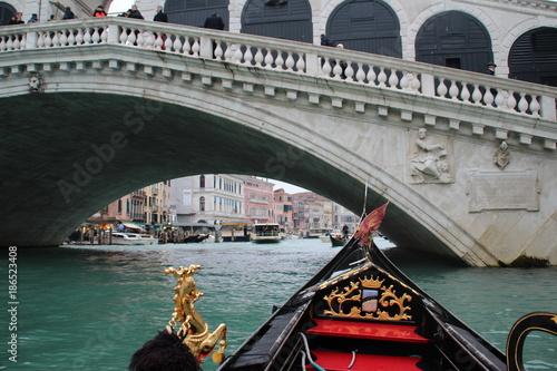 Poster Venetie gondoles