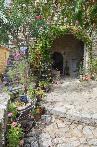 Atelier in the village Saint Montan in the Ardeche region of France
