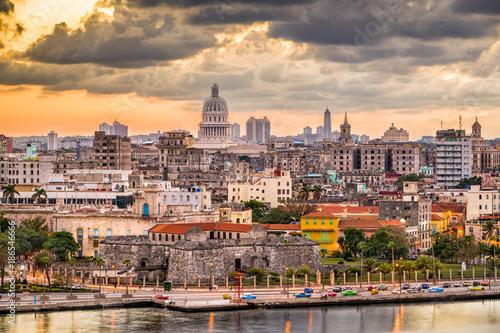 Tuinposter Havana Havana, Cuba Old Town