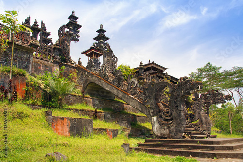 Keuken foto achterwand Bali Pura Besakih, Balinese largest hinduist temple and most famous place of worship.