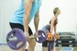 Body pump training and isometric