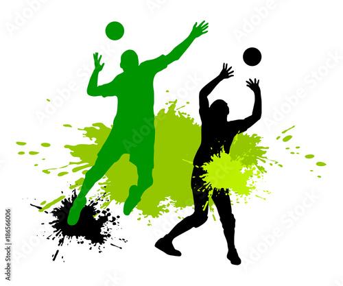 Fototapeta Volleyball - 152