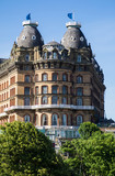 A Seafront Hotel at Scarborough, Yorkshire, England. - 186569442