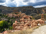 Albarracin, medieval town of Spain, in the province of Teruel - 186572426