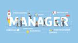 Manager concept illustration. - 186573671
