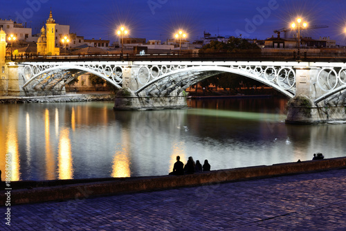 The Triana's Bridge - Seville, Spain