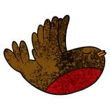 cartoon flying robin - 186588032