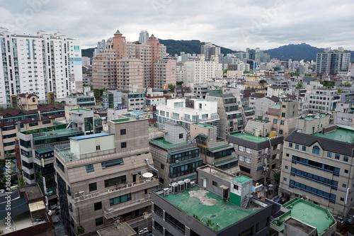 Deurstickers Seoel Seoul