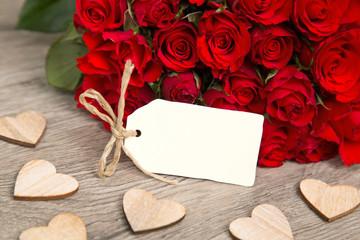 Rosen und Karte