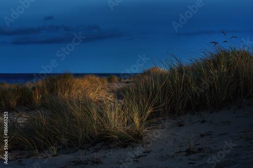Fotobehang Nachtblauw Ostseeküste - Eckernföderbucht - Norddeutschland
