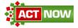 Act Now Green Red Circular Bar