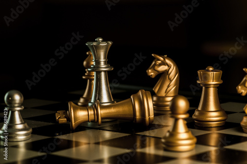 chess game before the victory © foras05