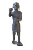 Copper statuette of Medina de las Torres Warrior, Spain - 186694232