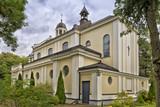 Catholic church in Wawer, Warsaw, Poland. - 186698206