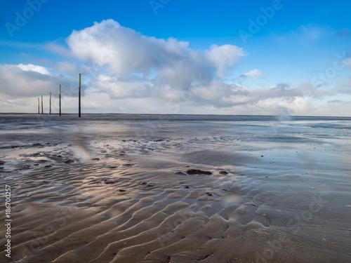 Foto op Plexiglas Noordzee Wattenmeer an der Nordsee