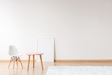 Empty room with small furniture - 186700696