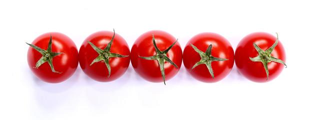 Cherry tomato. Banner