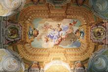 """Постер, картина, фотообои """"Fresco in Stift Melk, Austria - Science"""""""
