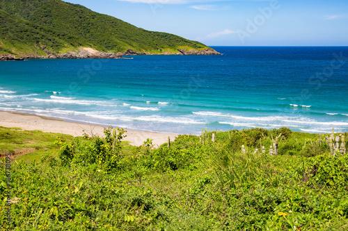Foto op Aluminium Tropical strand 7 olas