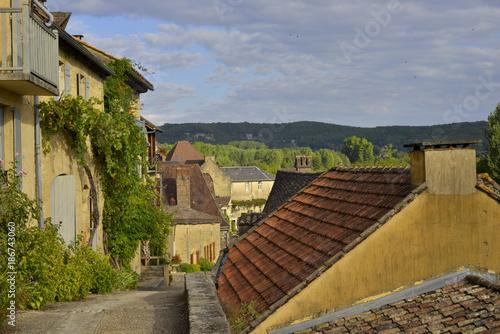Ruelle en pente à Beynac et Cazenac