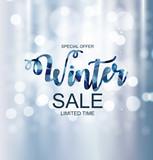 Winter Sale Backgrou...
