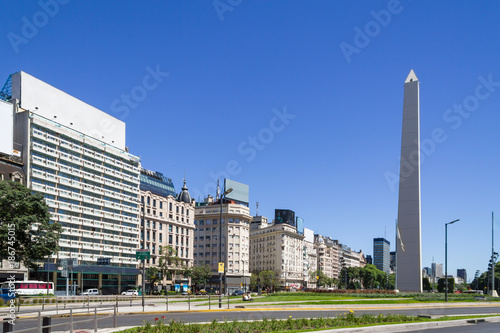 Fotobehang Buenos Aires Obelisco in Buenos Aires
