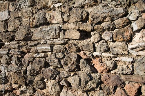 In de dag Stenen Rough stone wall texture