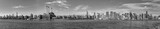 panorama of New York with river Hudson