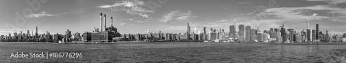 Foto op Aluminium New York panorama of New York with river Hudson