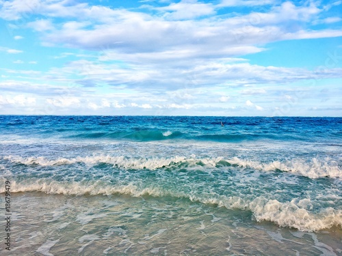 Morning at Atlantic ocean