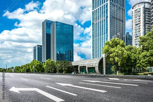 Modern city scenery