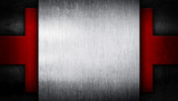 metal template pattern background
