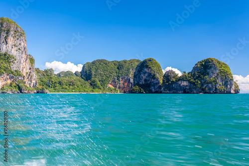 Aluminium Thailand plage et grottes de Phra Nang, Krabi, Thaïlande