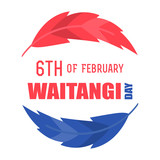 New Zealand Waitangi Day on the 6th of February. - 186835041